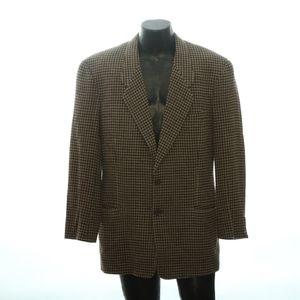 Giorgio Armani Mens 2 Button Suit Jacket 42L Nails